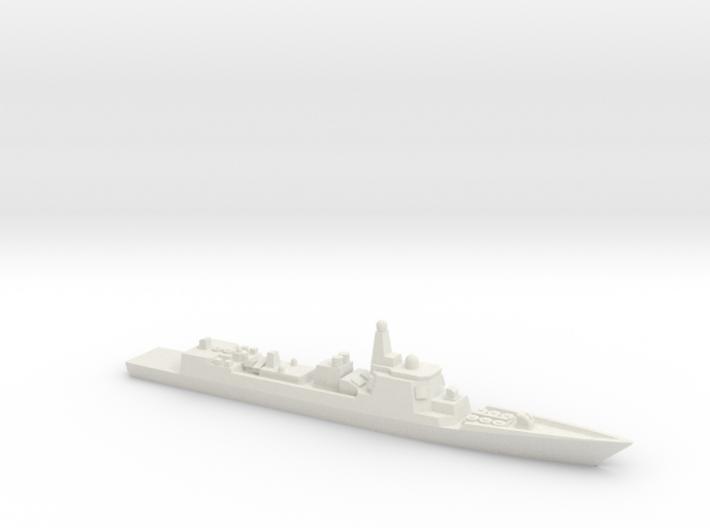 Type 052C Destroyer, 1/1800 3d printed