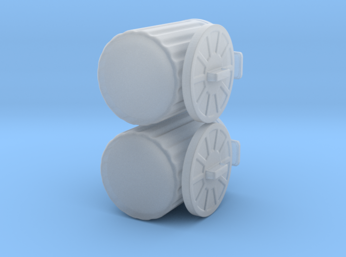 generic trash cans for tabletop games 3d printed