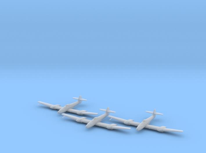 Blohm & Voss BV-155 1:200 x3 FUD 3d printed