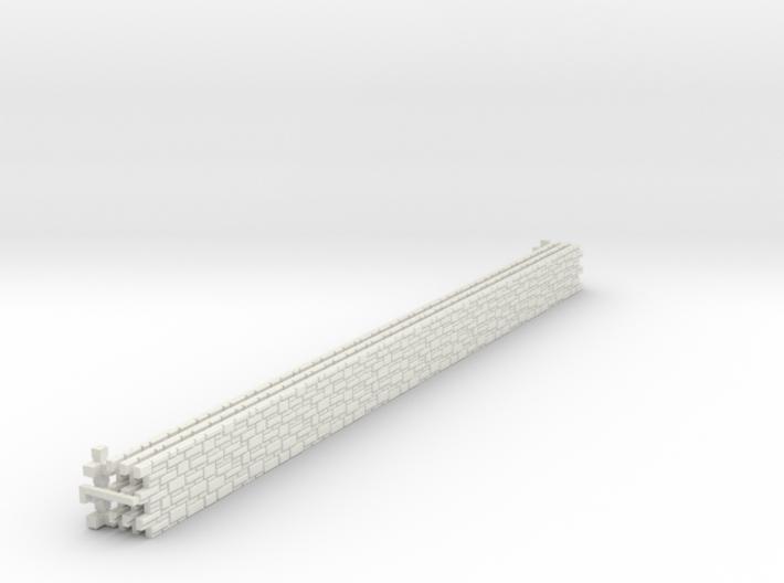SET Flexibles Schichtenmauerwerk (N 1:160) 3d printed