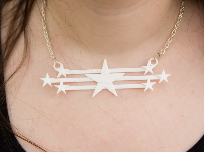 Stars And Stripes Focal 3d printed