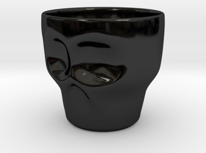 Skull Coffee Mug 3d printed