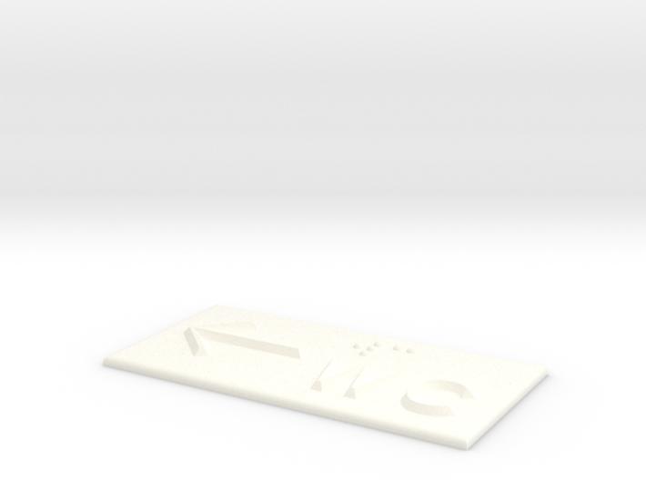 WC mit Pfeil nach links 3d printed
