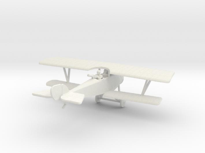 Nieuport 12 (Beardmore) 3d printed 1:144 Nieuport 12 in WSF