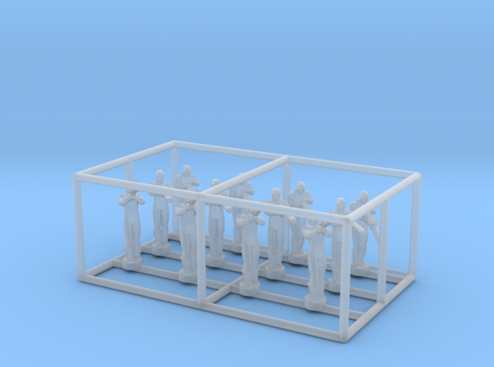 1/144 Standing Observers (Entente) 3d printed