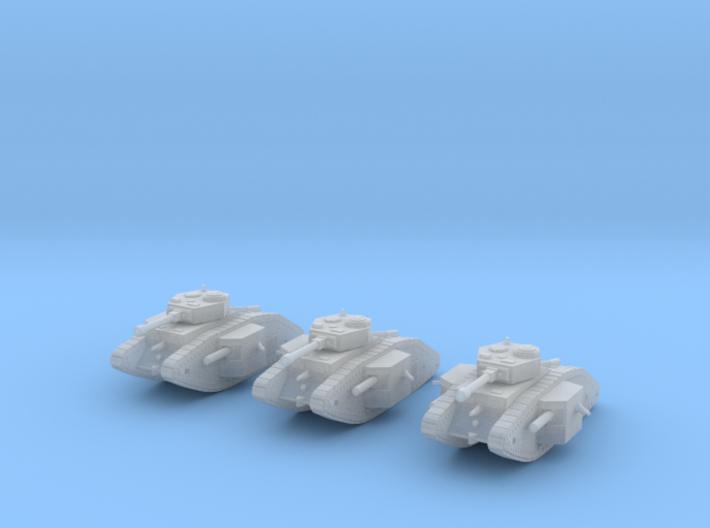 6mm Dieselpunk Primarch tank 3d printed
