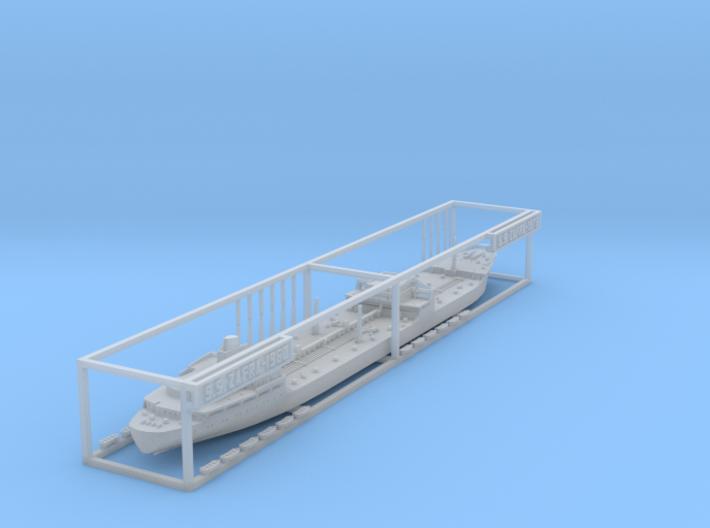1:1250 Dutch Shell tanker Zafra 3d printed