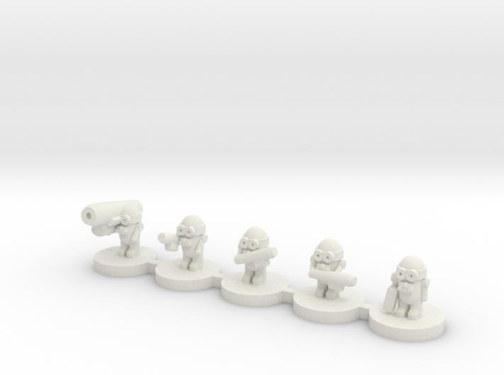 Alien Grunts 3d printed