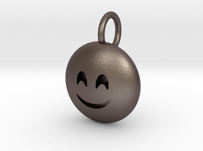 Dime Sized Emoji Smiling Eyes Smiling Mouth 3d printed