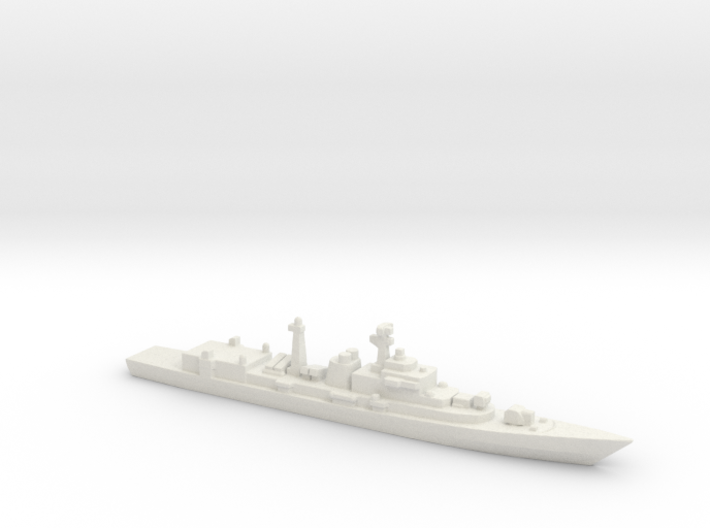 Type 052 Destroyer, 1/3000 3d printed