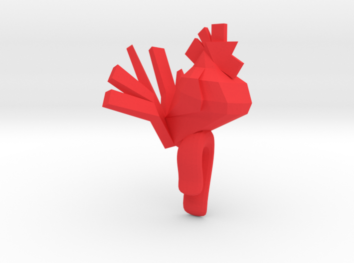 Little gentleman Rooster 3d printed