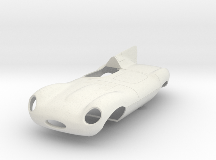 1/8 Jaguar Short Nose D Type 3d printed