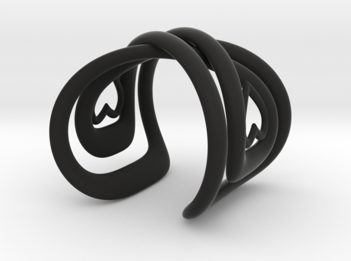 Infinite Love Bracelet 3d printed