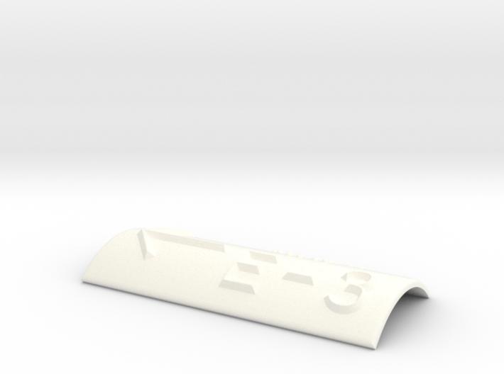 E-3 mit Pfeil nach links 3d printed