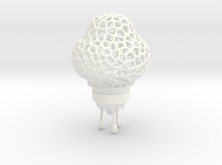 Space Rocket LED tealight lamp 3d printed
