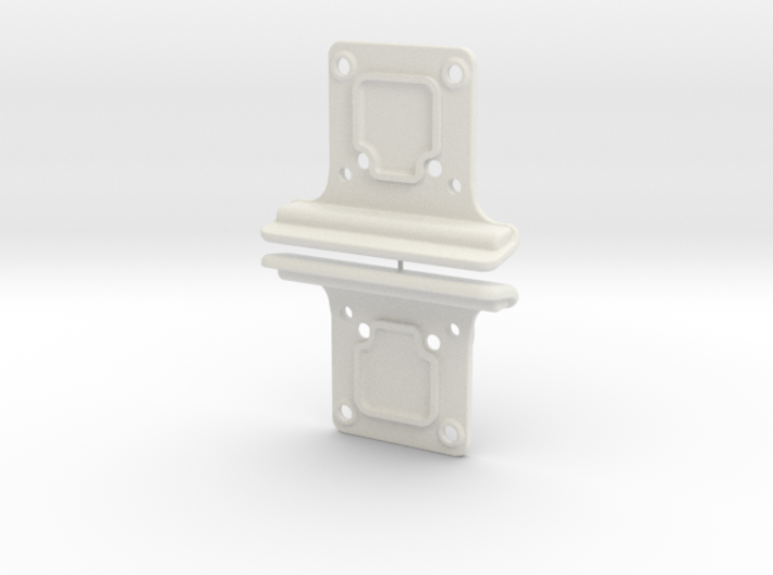 YZ4 - Front Bumpers 3d printed