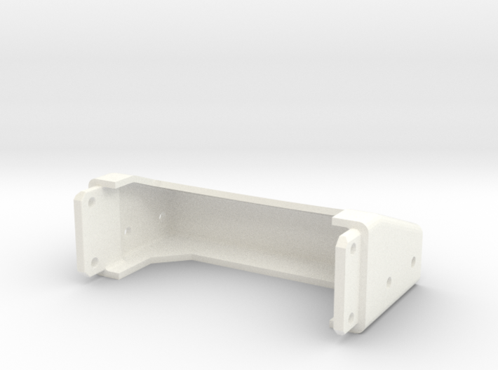 Tamiya Semi Truck Tapered Frame End - Type D 3d printed