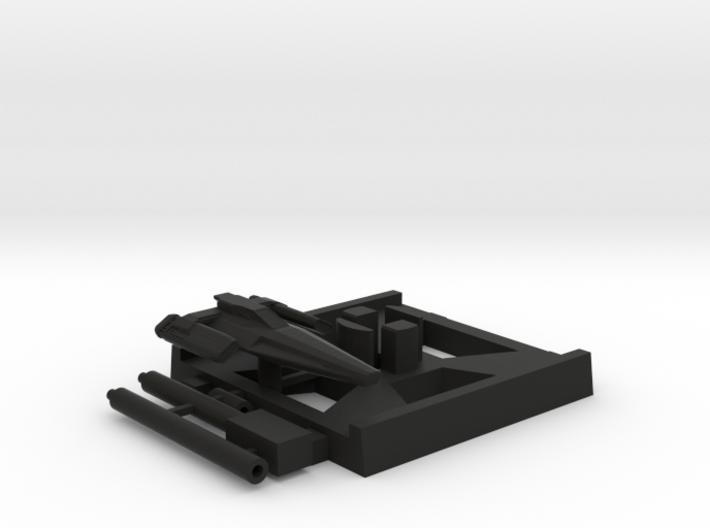 Blackbird, X-Wing Base (BSG), 1/270 3d printed