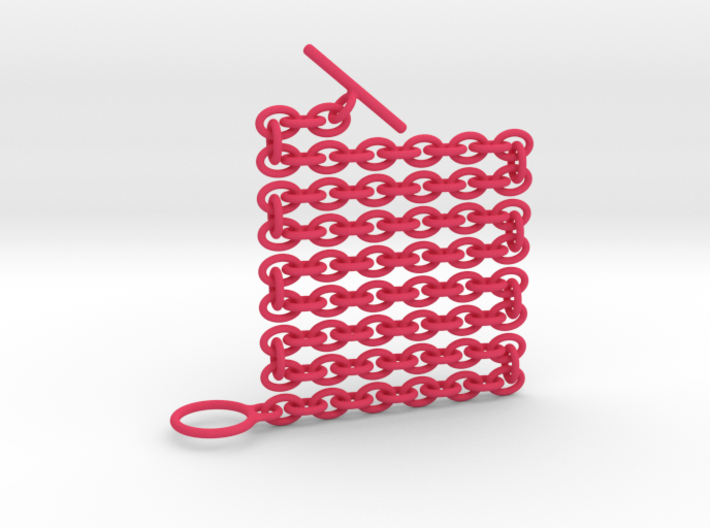 Basic Oval Chain - 18in 3d printed