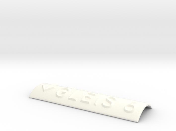 GLEIS 6 mit Pfeil nach unten 3d printed