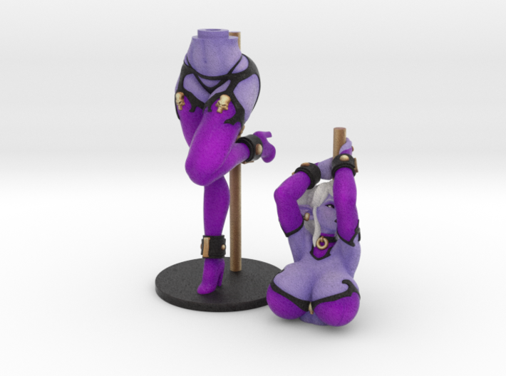 Pole Dancer Syx (Bra) 25 cm (approx 10 inches) 3d printed