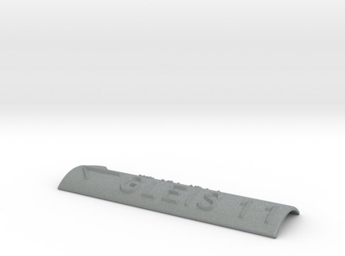 GLEIS 11 mit Pfeil nach links 3d printed