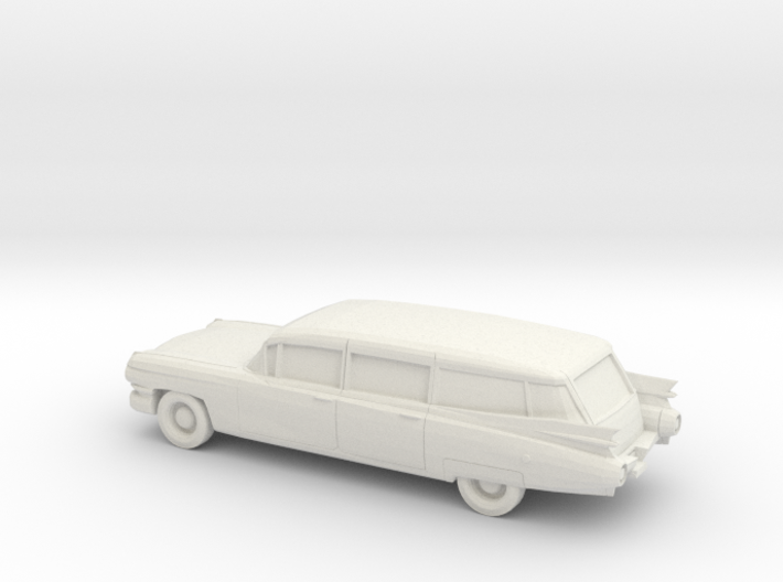 1/87 1959 Cadillac Station Wagon 3d printed
