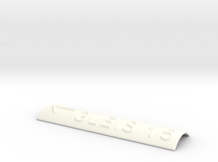 GLEIS 15 mit Pfeil nach links 3d printed