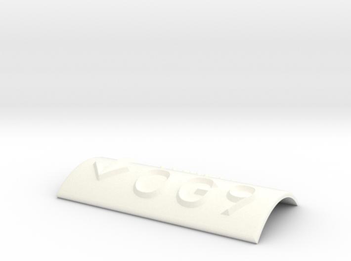OG 9 mit Pfeil nach unten 3d printed