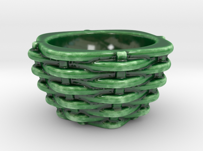 Woven Egg Cup  3d printed L