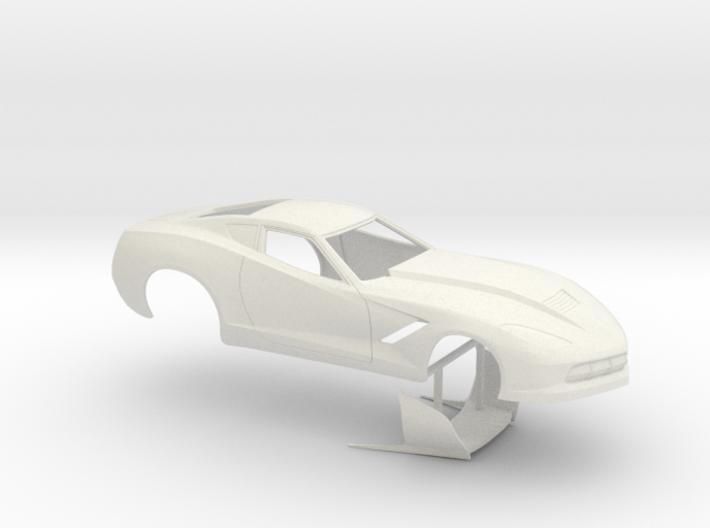 1/16 2014 Pro Mod Corvette No Scoop 3d printed