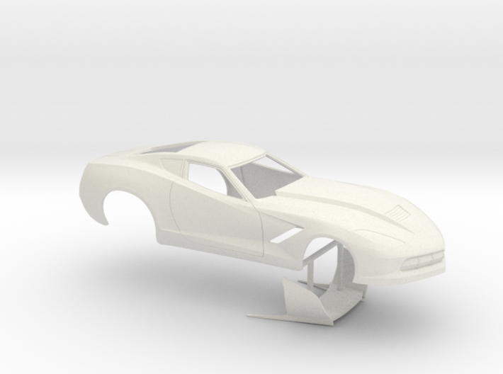1/24 2014 Pro Mod Corvette No Scoop 3d printed