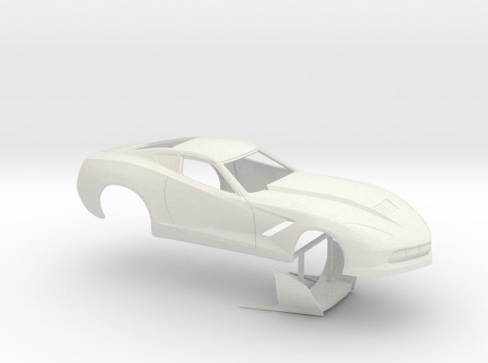 1/25 2014 Pro Mod Corvette No Scoop 3d printed