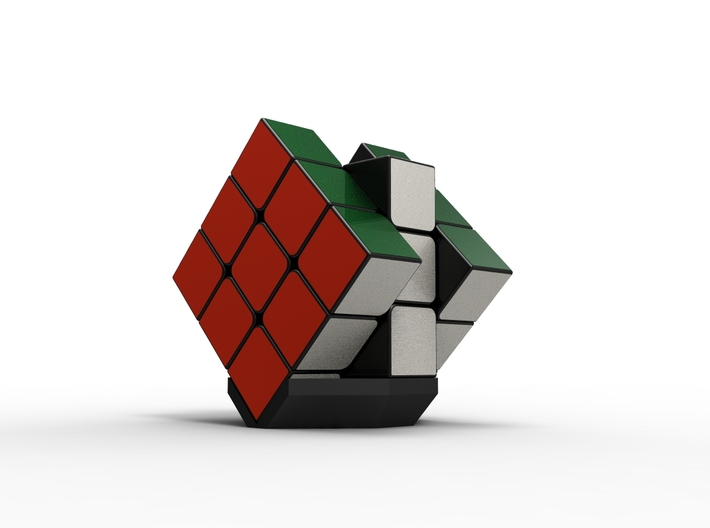 Rubiks Cube Stand v2 3d printed