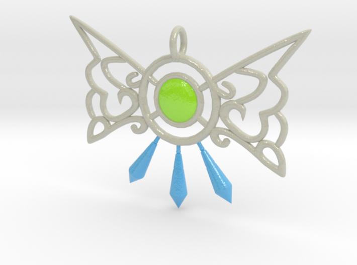 Elfin Charm 3d printed