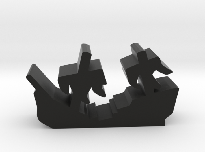Game Piece, Shipwreck Sails 3d printed