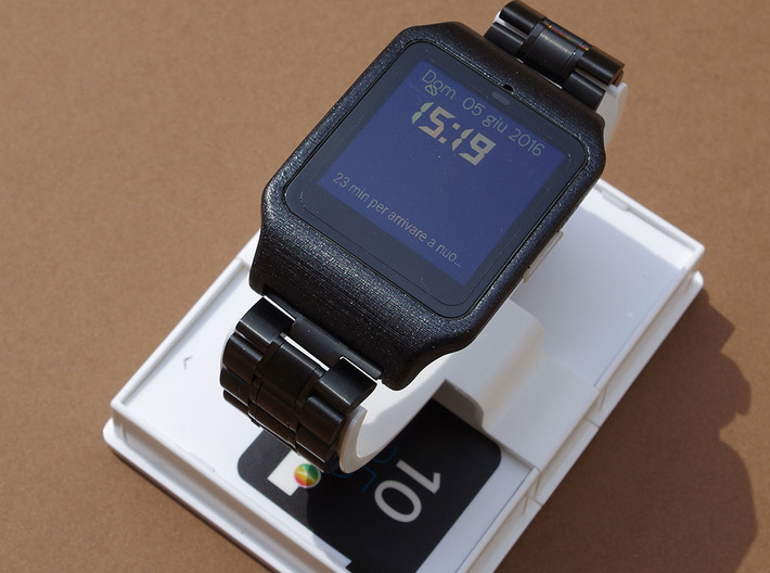 adapter for Sony smartwatch 3 3d printed