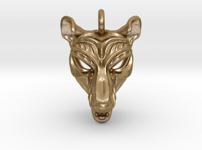 Thylacine (tasmanian tiger) Pendant 3d printed