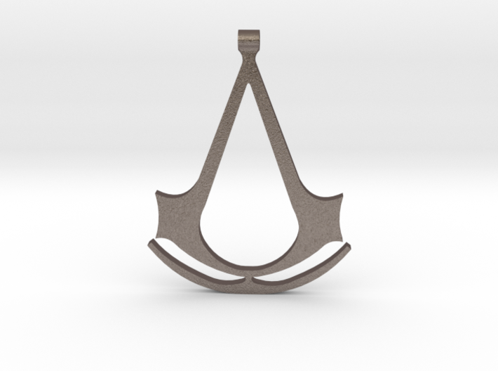 Assassins Creed Pendant 3d printed