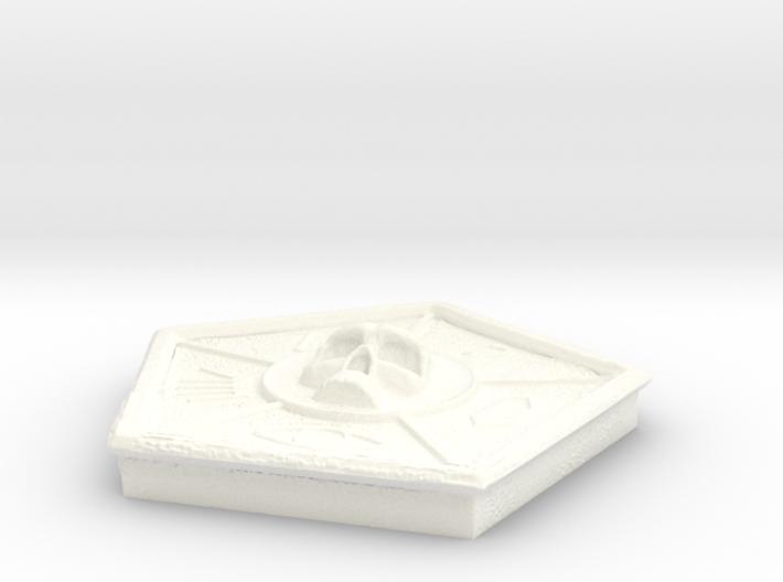 Skull Medallion Final 3d printed