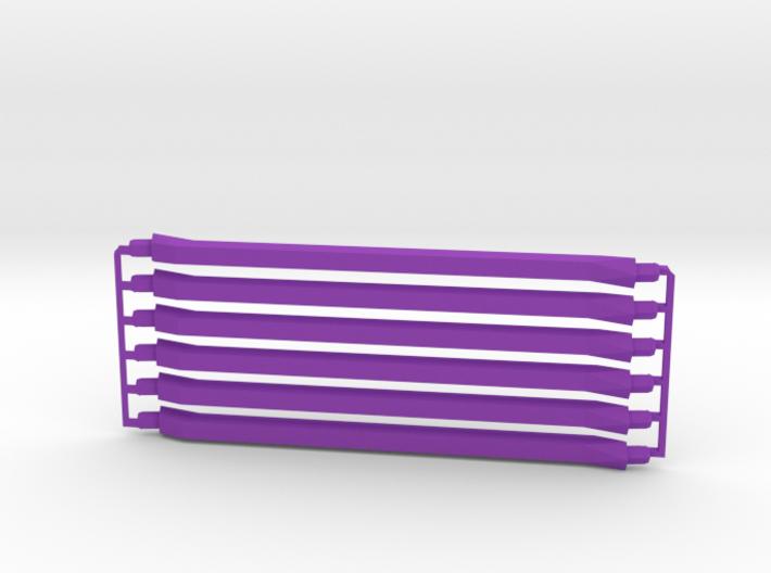 6 medium purple 3d printed