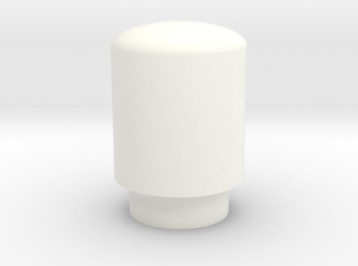 Alcoa 1.9, 8 or 10 lug rear wheel nut cover 3d printed