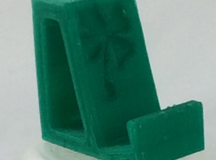 Flexible Phone Stand Keychain - Shamrock 3d printed