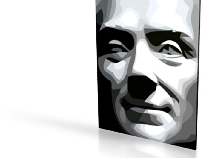 Spirit of Divisionism - flat - 5in 3d printed