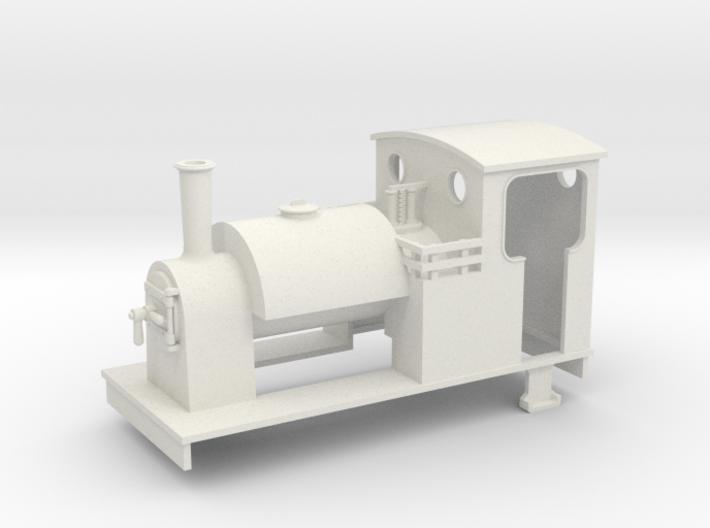 00n3 Freelance Saddletank loco 34 3d printed