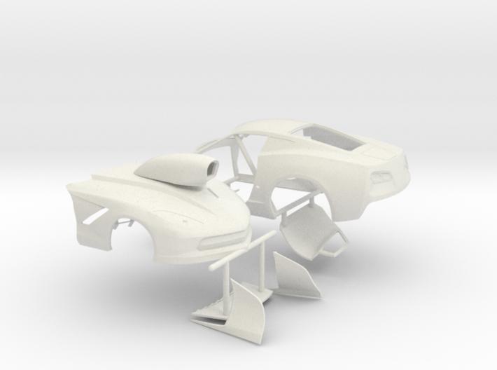 1/8 2014 Pro Mod Vette Sep Doors And Hood 3d printed