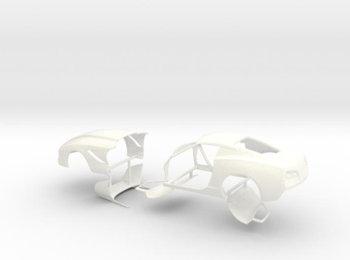 1/25 2014 Pro Mod Vette No Scoop Sep Doors And Hoo 3d printed