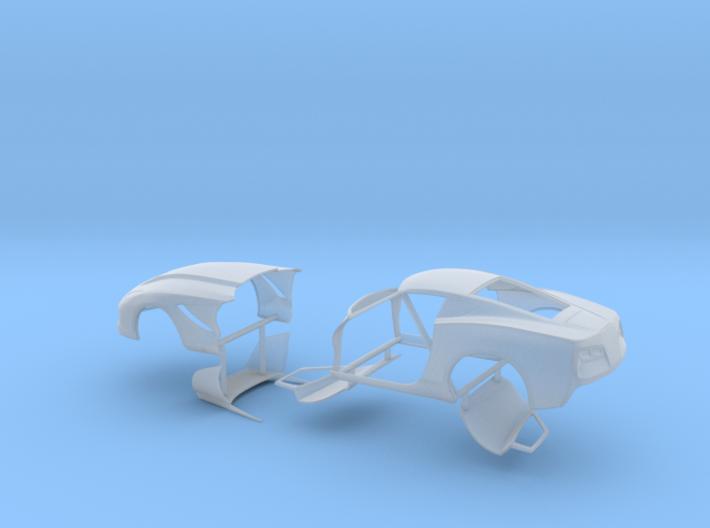 1/64 2014 Pro Mod Vette No Scoop Sep Doors And Hoo 3d printed