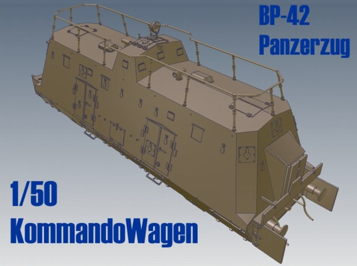 1-50 K-Wagen For BP-42 3d printed