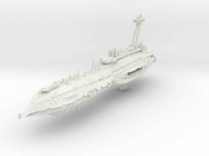 "Providence Destroyer ""Invisible Hand"" (1/7000) 3d printed"